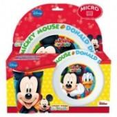 Conjunto melamina Mickey e Amigos