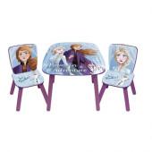 Conjunto Mesa + Cadeiras Frozen 2