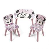 Conjunto Mesa + Cadeiras Minnie