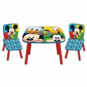 Conjunto Mesa e Cadeiras de Mickey Mouse