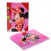 Conjunto mini diario + bloco de Minnie - Fashion Icon