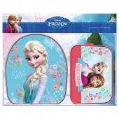 Conjunto mochila + necessaire Frozen