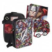 Conjunto natação Marvel Avengers