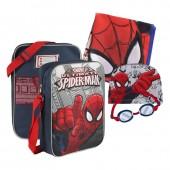 Conjunto natação Marvel Spiderman