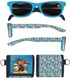 Conjunto óculos + carteira Patrulha Pata