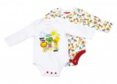 Conjunto oferta 2 bodys Fisher-Price