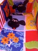 Conjunto Ovelha cama de grades