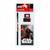 Conjunto papelaria 4 pçs Star Wars Episódio VII