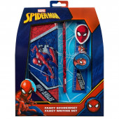 Conjunto Papelaria 5 peças Spiderman