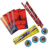 Conjunto Papelaria Brinde Spiderman 16 peças