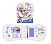 Conjunto papelaria Elsa Frozen 15 pcs