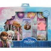 Conjunto Papelaria Frozen 19 pcs
