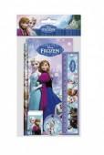 Conjunto papelaria Frozen Sisters 5 pcs