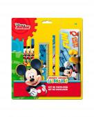Conjunto Papelaria Mickey Mouse Disney