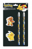 Conjunto Papelaria Pokemon 4 pç