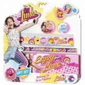 Conjunto papelaria Sou Luna 5 pcs Enjoy Love