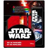 Conjunto papelaria Star Wars Darth Vader