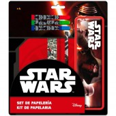 Conjunto papelaria Star Wars Episodio VII Kylo Ren