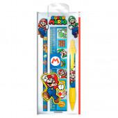 Conjunto Papelaria Super Mario 5 peças