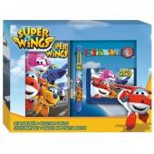 Conjunto Papelaria Super Wings