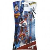 Conjunto Papelaria Superman 4 peças
