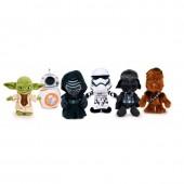 Conjunto Peluches Star Wars Sortidos 29cm