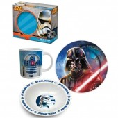 Conjunto Pequeno Almoço Star Wars Ceramica