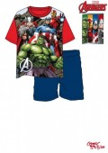 Conjunto Pijama Verão Marvel Avengers Red