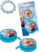 Conjunto porta moedas + pulseira Frozen