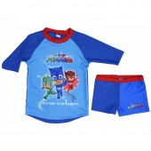 Conjunto Praia Pj Masks - Its Time to Be a Hero!