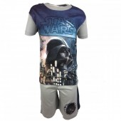 Conjunto Praia Star Wars - Azul e Cinza