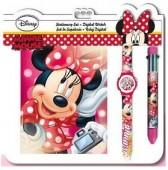 Conjunto presente papelaria  Disney Minnie