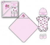 Conjunto presente para bebe de Minnie Mouse