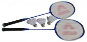 Conjunto Raquetes Badminton Azul