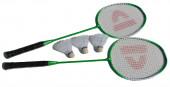 Conjunto Raquetes Badminton Verde
