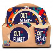 Conjunto Refeição Bambu Out of This Planet