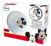 Conjunto Refeição Cerâmica Mickey Mouse