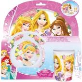 Conjunto  refeição das Princesas Disney