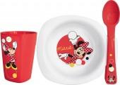 Conjunto refeição Disney Minnie Melamina