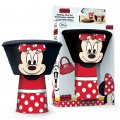 Conjunto refeição Disney Minnie White Dots