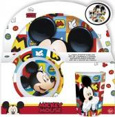 Conjunto refeição em melamina Mickey - Icons
