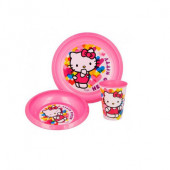Conjunto Refeição Hello Kitty