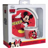 Conjunto refeição Melamina do Mickey