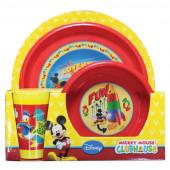 Conjunto Refeição Mickey Club House Disney