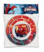 Conjunto refeição micro-ondas Spiderman Red Webs