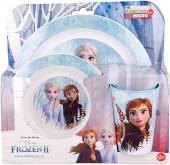 Conjunto Refeição Microondas Frozen 2 Disney