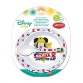 Conjunto Refeição Microondas Mickey