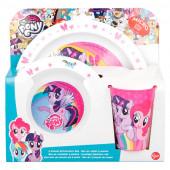 Conjunto Refeição Microondas My Little Pony
