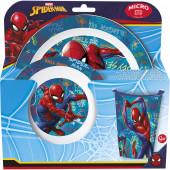 Conjunto Refeição Microondas Spiderman