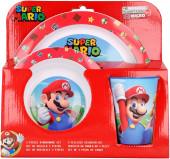 Conjunto Refeição Microondas Super Mario